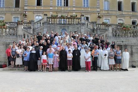 Uczestnicy 73 sesji chorałowej Szkoły Świętego Grzegorza